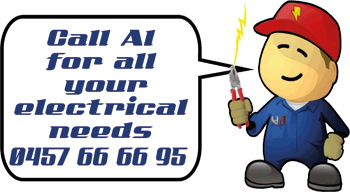 Call Al for all your electrical needs.